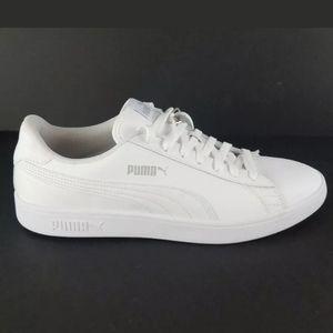 PUMA SMASH V2 Sz 11 White/ Grey .